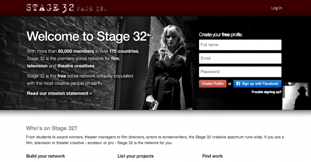 Stage 32 Website Richard Botto